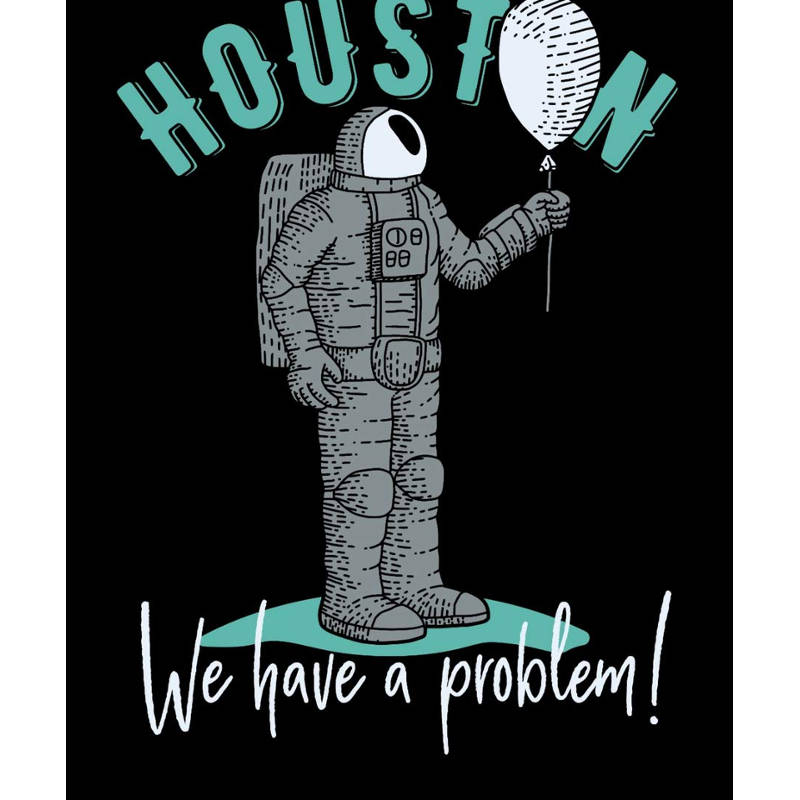 Dessin Houston We have a problem